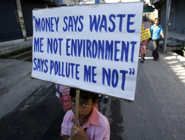 infants petition pollution