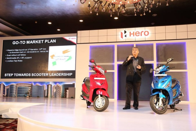 Hero Duet 110cc scooter unveiled, prices to be revealed later