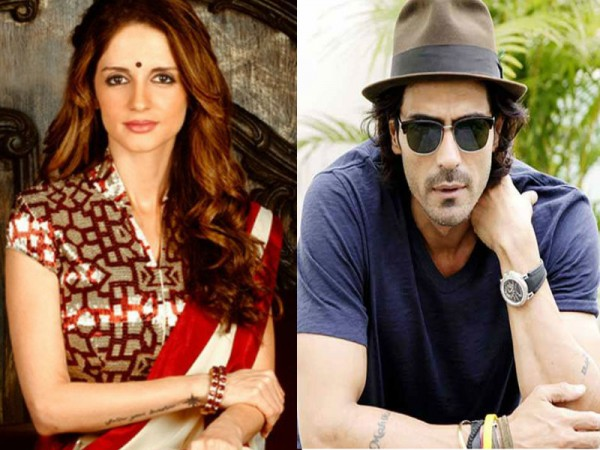Sussanne Khan and Arjun Rampal