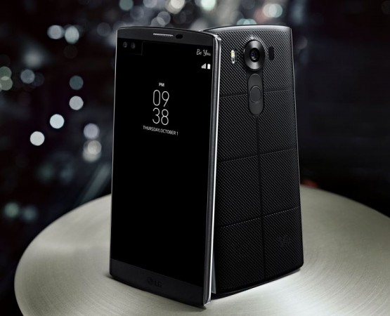 LG launches premium smartphone V10 with dual-display, 5mp dual-lens front camera