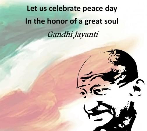 Happy Gandhi Jayanti 2015