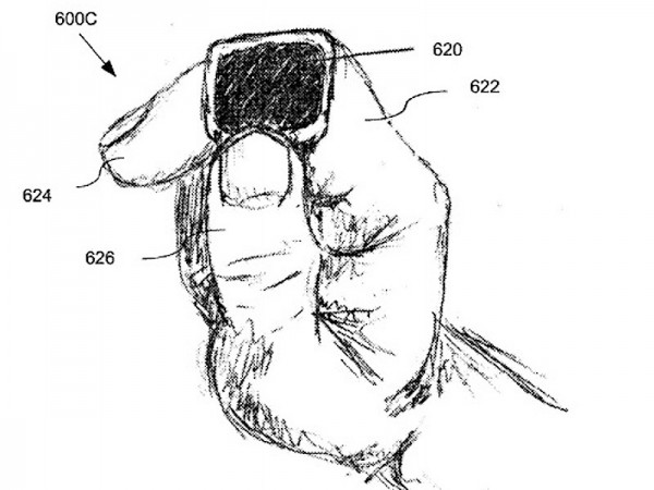 Apple filed patent for a ring based smartwatch substitute
