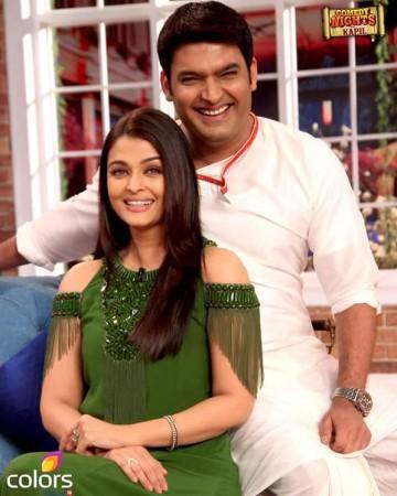 Aishwarya Rai Bachchan on Kapil Sharma's show 'Comedy Nights With Kapil'
