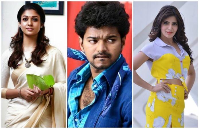 Nayantara, Vijay and Samantha