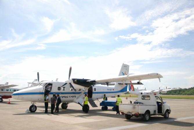 Aviastar DHC-6-300 at Halim Perdanakusuma Airport in 2012