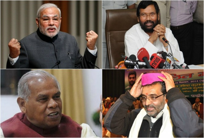 NDA allies Bihar