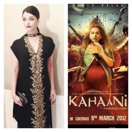 Aishwarya Rai Bachchan was the first choice for 'Kahaani', not Vidya Balan