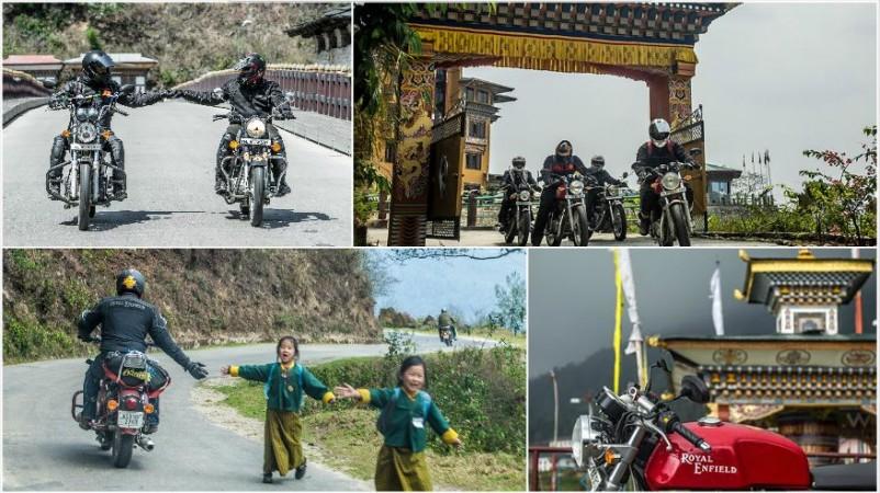 Royal Enfield 2015 Tour of Bhutan
