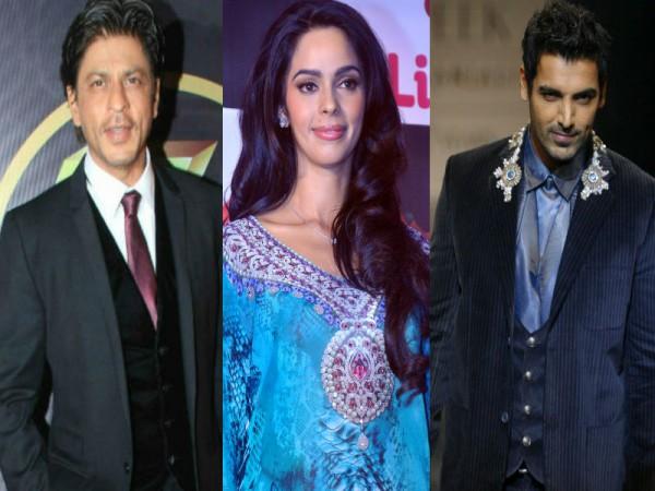 Shah Rukh Khan, Mallika Sherawat, John Abraham