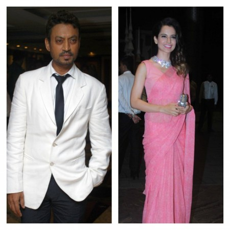 Irrfan Khan, Kangana Ranaut to work together in Katan Mehta's upcoming biopic