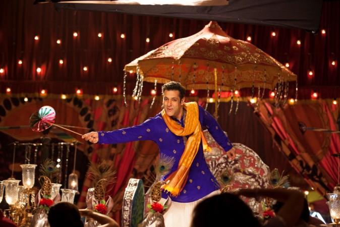 Salman Khan in 'Prem Leela' song