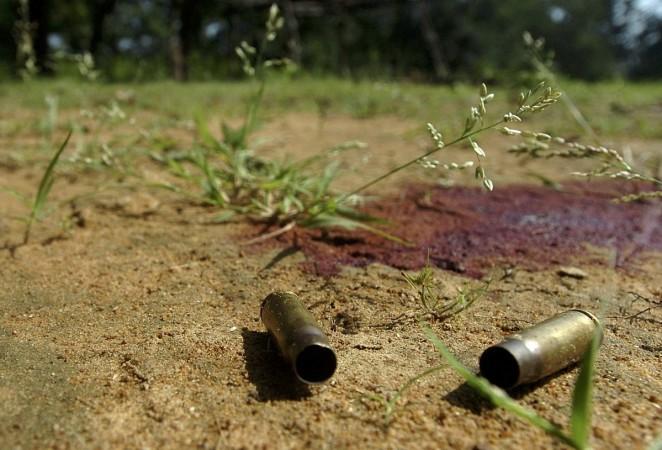 bullets blood