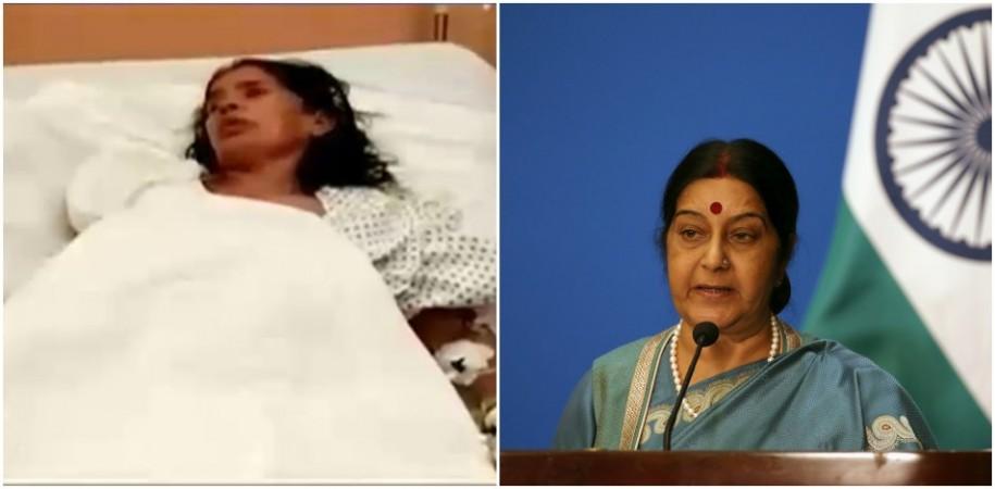 Suhma Swaraj on Saudi woman
