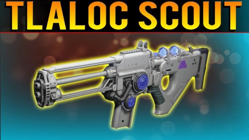 Destiny: The Taken King's Tlaloc Exotic Scout Rifle