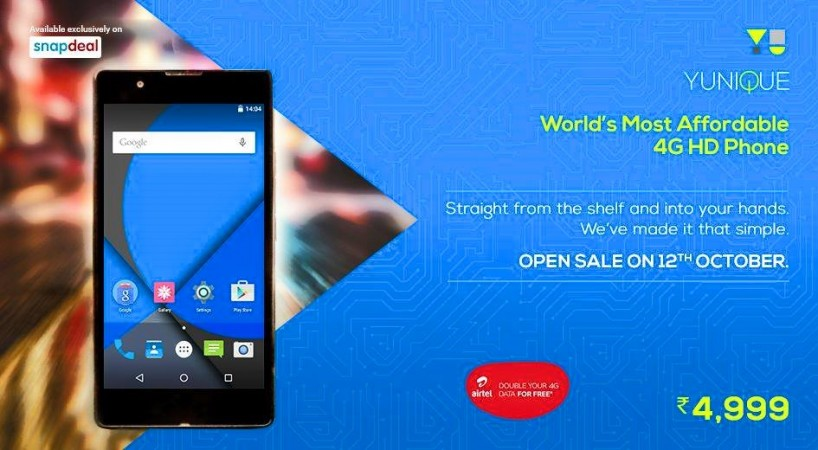 Open sale bonanza: YU Yunique, Yuphoria and Yureka Plus available without registrations for limited time