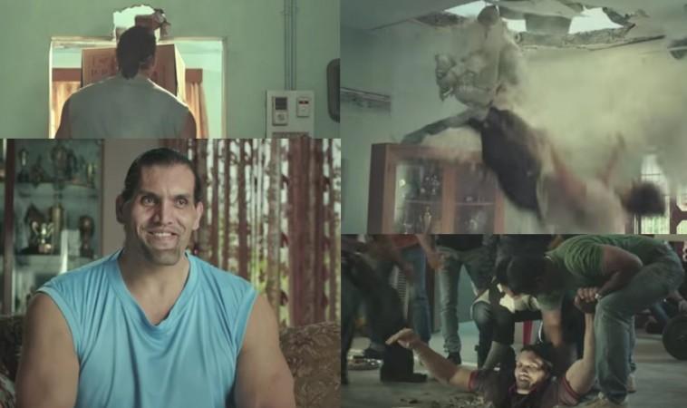 The Great Khali in Ambuja Cements Advertisement