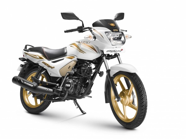 TVS StaR City  special gold edition