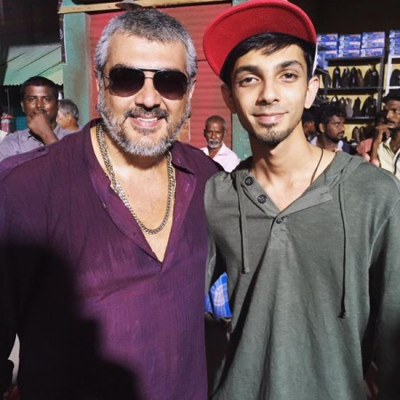 Ajith with Anirudh Ravichander