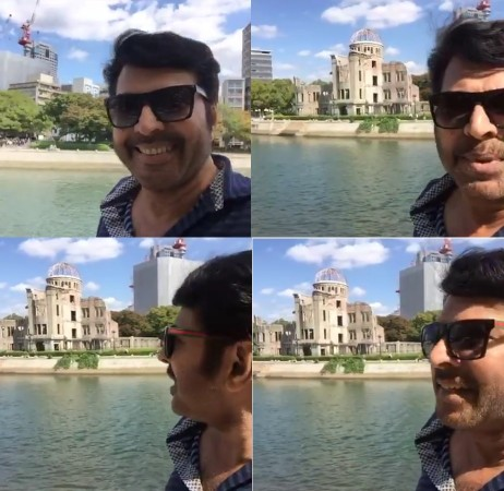 Mammootty in Japan