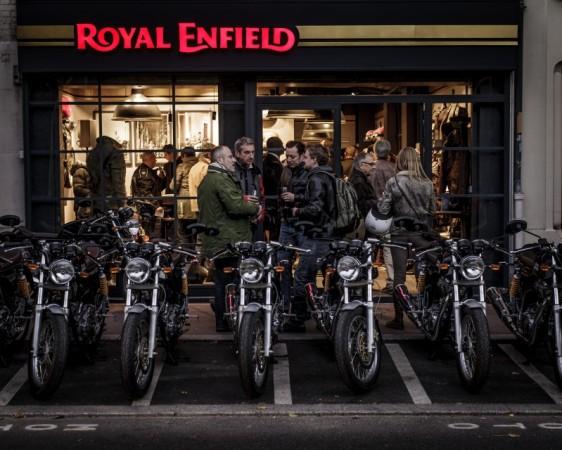 Royal Enfield Store, Paris