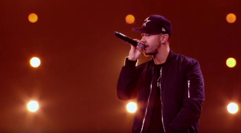 Mason Noise performs on The X Factor UK 2015