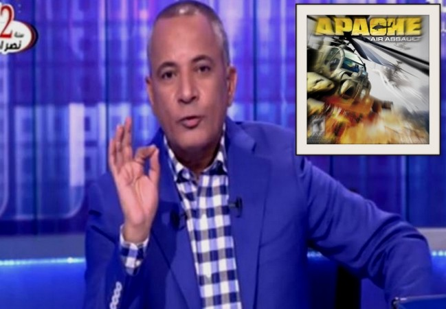 TV host Ahmed Moussa