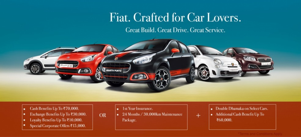 Fiat India Double Dhamaka Offers