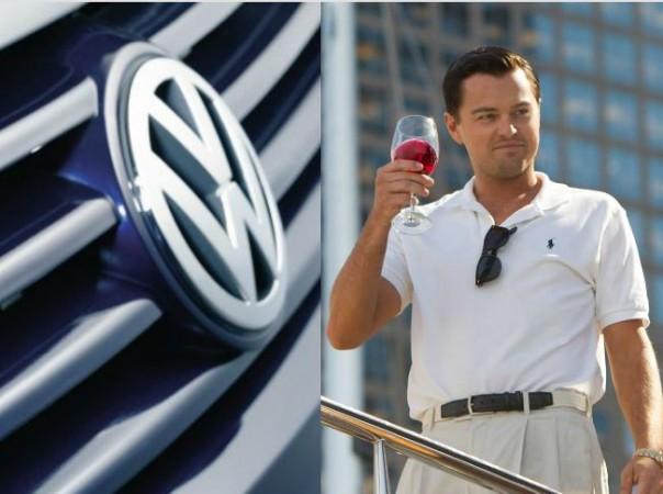 Volkswagen Logo and Leonardo DiCaprio
