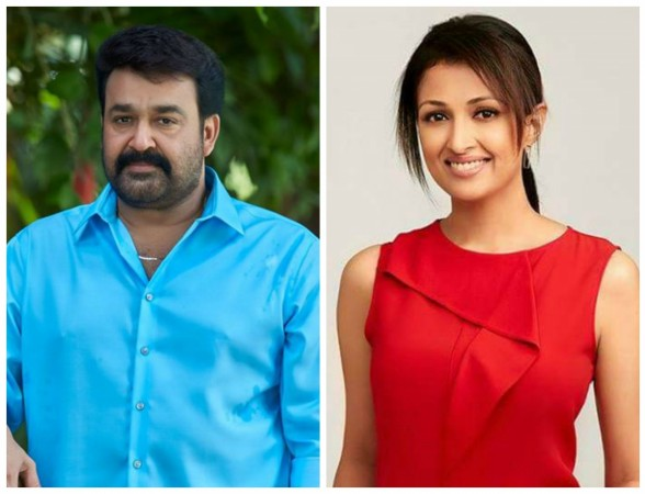Mohanlal and Gauthami