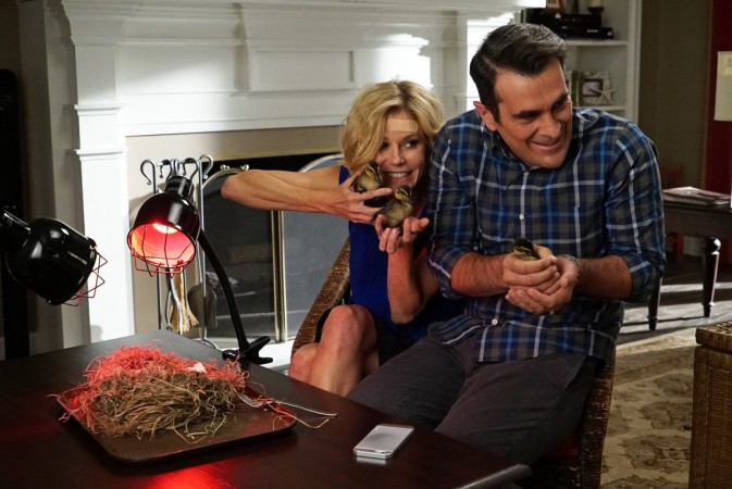 Claire and Phil from 'Modern Family'