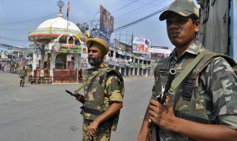 police communal tension