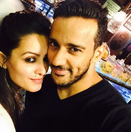 Anita Hassanandani with husband Rohit Reddy