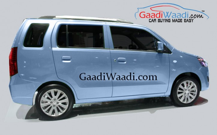 Marui Suzuki Wagon R MPV (YJC) in the works