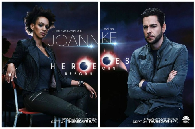 Joan and Luke from 'Heroes Reborn'