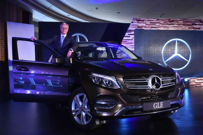 Mercedes-benz GLE launched