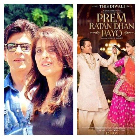 Shah Rukh Khan's 'Dilwale' trailer to be released with Salman Khan's 'Prem Ratan Dhan Payo'