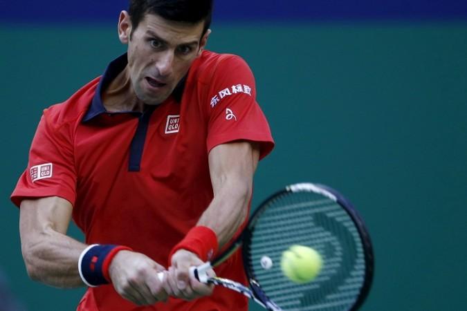 Novak Djokovic Shanghai Masters 2015