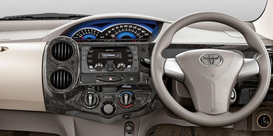 Toyota new Liva dashboard