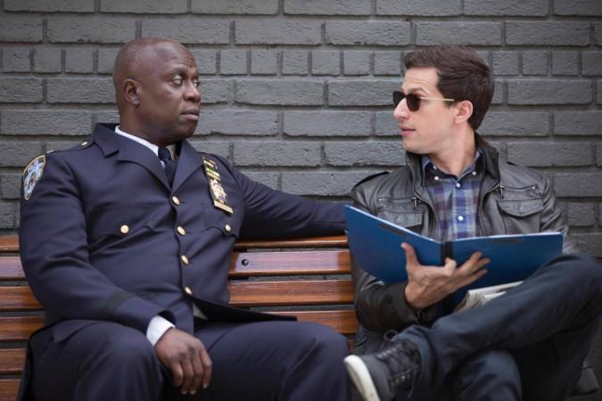 Captain Holt and Jake meet in secret