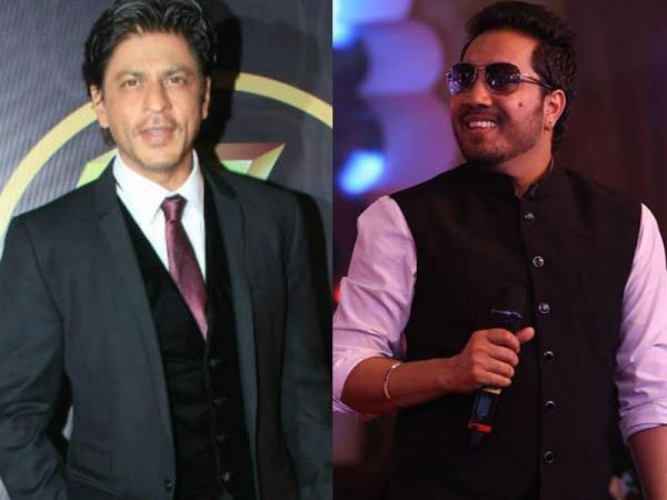 Shah Rukh Khan and Mika Singh