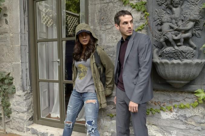Alex and Simon from 'Quantico'