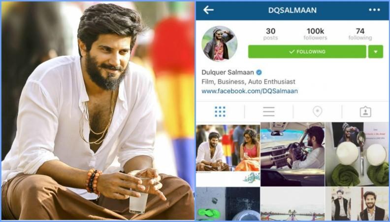 Dulquer Salmaan Instagram