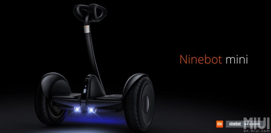 Xiaomi unveils affordable Ninebot Mini Segway scooter in Beijing, China