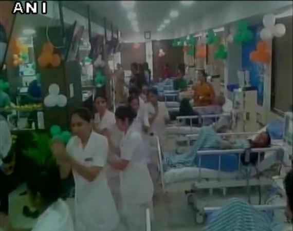 garba in hospital