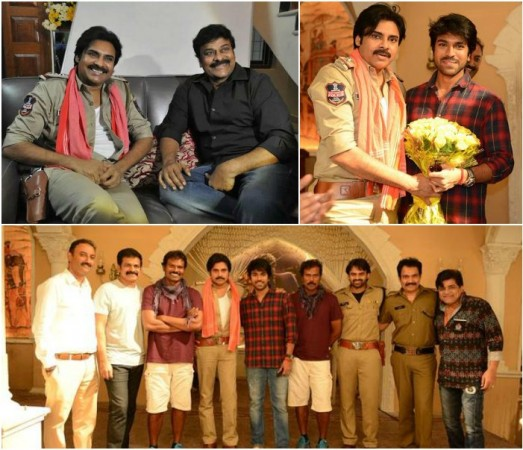 Pawan Kalyan meets, greets Chiranjeevi, Ram Charan on Bruce Lee success