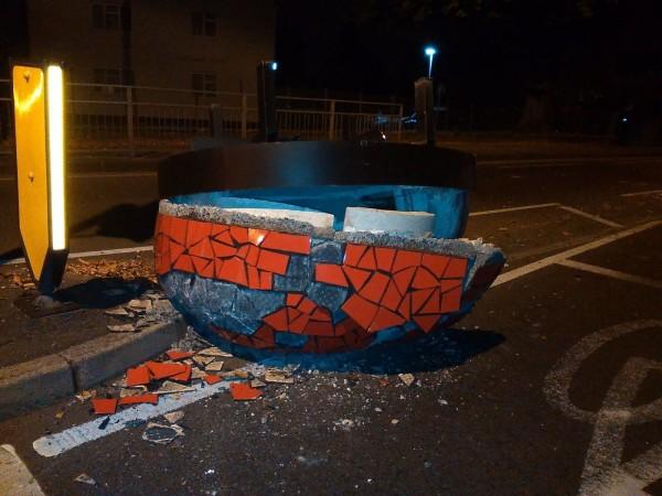 UFO crash landed?