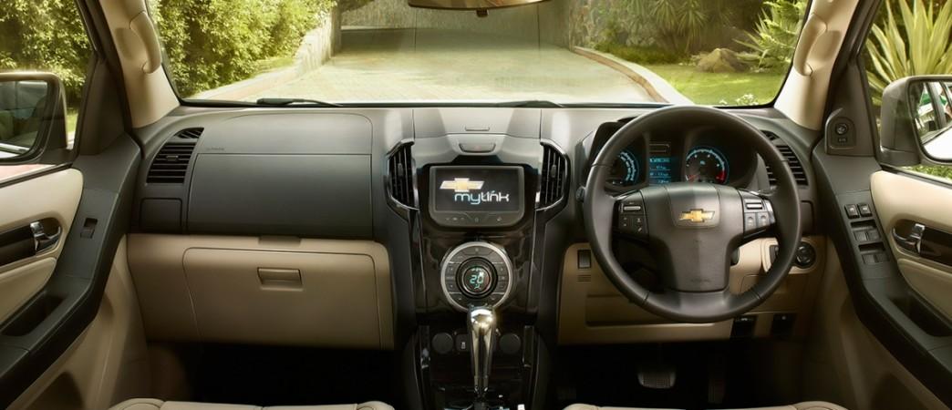 Chevrolet Trailblazer dashboard