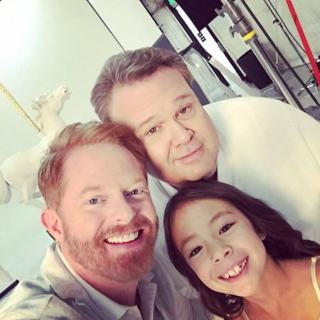Cam, Mitch and their daughter Lily from 'Modern Family'