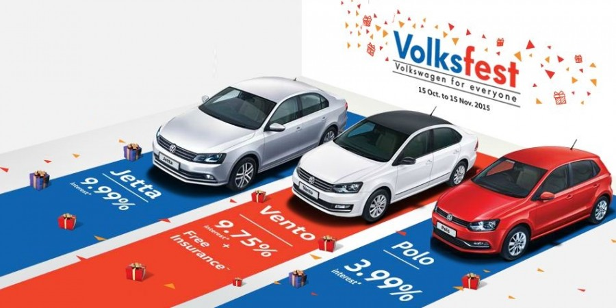Festive Season Offers: Volkswagen India Announces Volksfest 2015