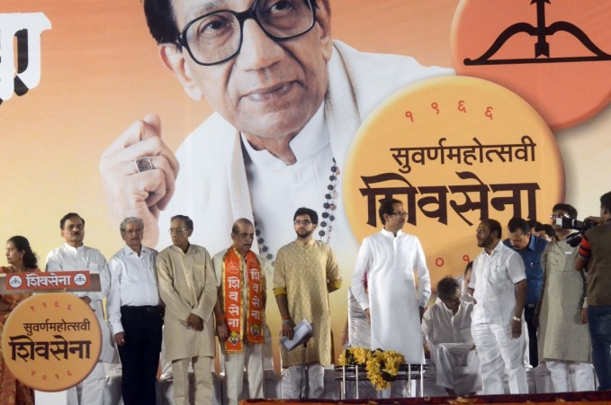 Uddhav Thakeray at Sena Rally